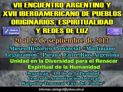 red de luz argentina