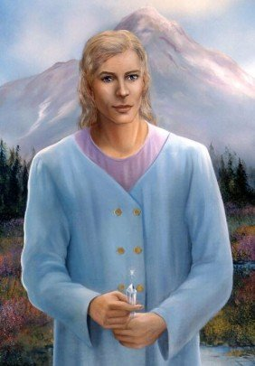Adama con un cuarzo cristal - hermandadblanca.org