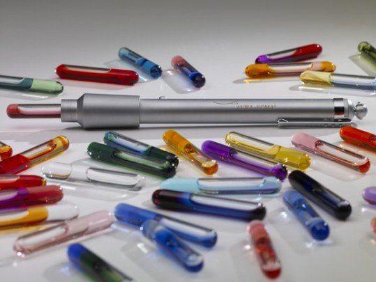 lámparas de colores sofia randall
