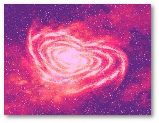 corazon de color Rosa