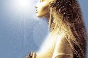 La Madre Divina – El cuerpo de Luz