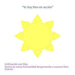 """Simbolo de Miguel Arcángel """"Yo Soy Dios en Acción"""""""