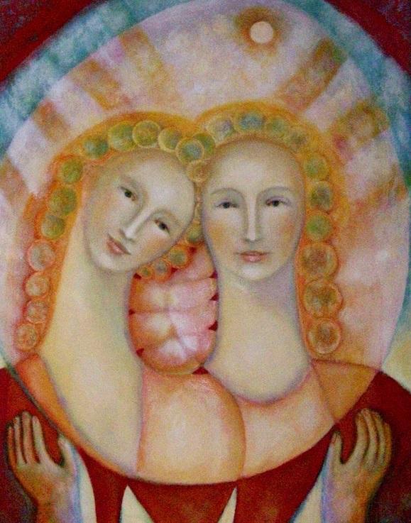 mujeres santas