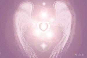 tu espiritu - ángel en forma de corazón