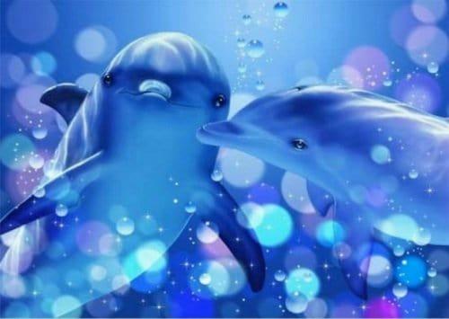 angeles delfines amorosos-La luz del alma