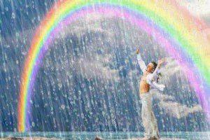 Perlas de luz, de la conciencia Arcoíris. Amada María