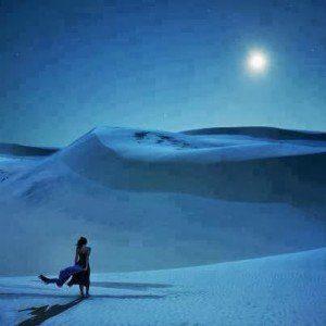 Alma llora mer vivar- mujer con paisaje de fondo