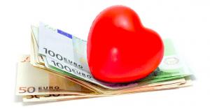 dinero y corazón