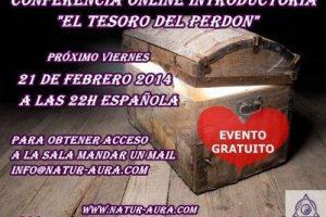 """Conferencia introductoria online """"El Tesoro del Perdón"""" Evento gratuito ~21 de febrero"""