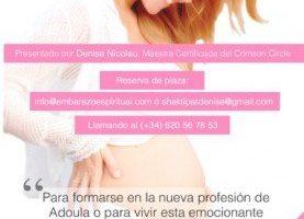 Curso de Formación como Adoula Espiritual  del 28 de Febrero al 2 de Marzo 2014 en Madrid – (España)