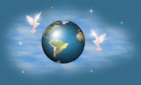 palomas de la paz en el mundo