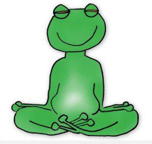 rana-meditando