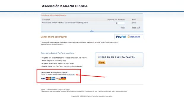 20170219 jorge id30900 formas de pago para hacer los donativos paypal tarjeta - Formas de pago para hacer los donativos - hermandadblanca.org