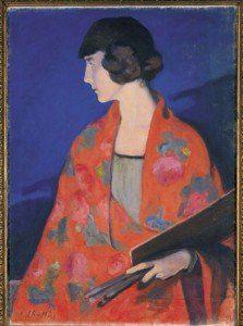 elisabeth-chaplin-1892-1982-self-portrait-wearing-a-red-shawl