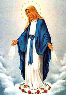 Madre maria y las 12 estrellas