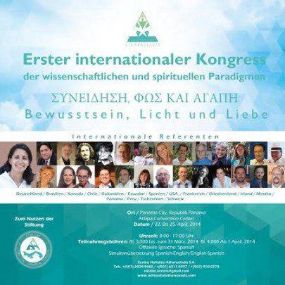 Primer Congreso Paradigma espiritual ALEMAN