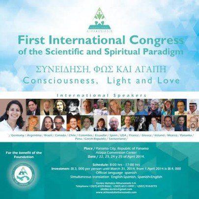 Primer Congreso Paradigma espiritual en INGLES