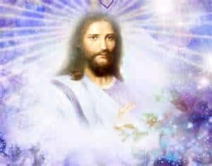 Maestro Jesús -envuelto de energía violeta