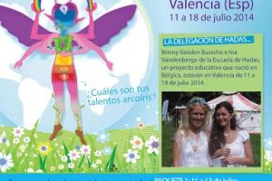 Coach Arcoíris de los talentos: Formación en Valencia-España de 11 a 18 de julio 2014