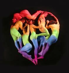 corazón de personas