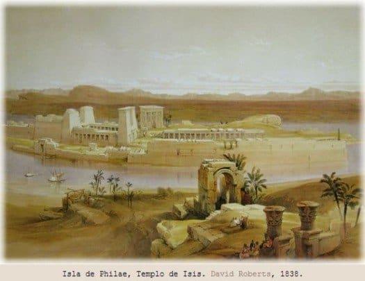 Los templos de egipto