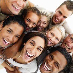 Se positivo gente sonrriendo sonrrisa equipo trabajo grupo