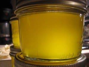mantequilla clarificada