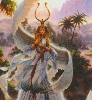 Diosa isis - con alas