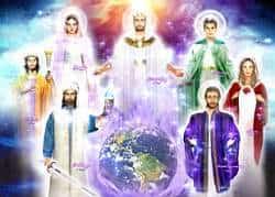 Los Siete Maestros Ascendidos acompañando a la Tierra Gaia