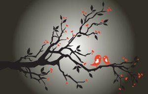 """silhouette nature vector Meditación """"tonglen"""" : Vehículo para El Despertar de la compasión"""