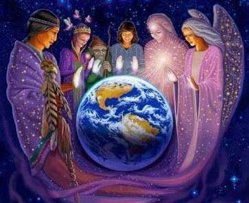 familia estelar y ángeles