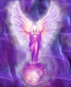Ángel violeta