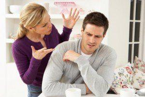 pareja enfadada - matrimonio