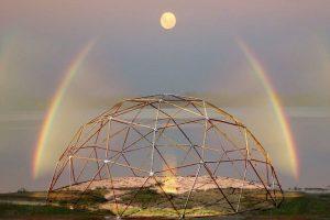 La Geometría Sagrada De Las Ciudades De Luz Domos O Cúpulas Geodésicas