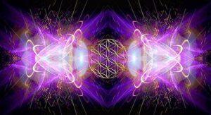 hologramas violeta