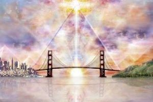 Tu guía espiritual y el puente arco iris.