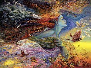 energía femenina - diosa
