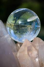 esfera de cristal de cuarzo