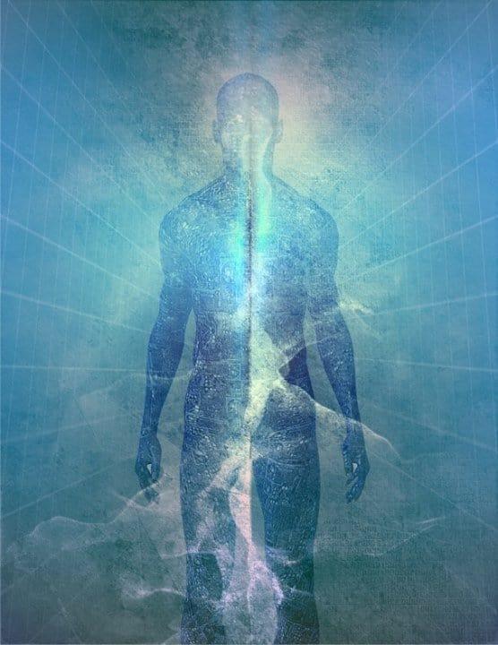 hombre de luz-cuerpo de luz