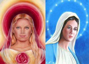 madre maria y Maria Magdalena