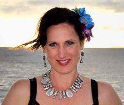 Foto en la playa de Monica Muranyi