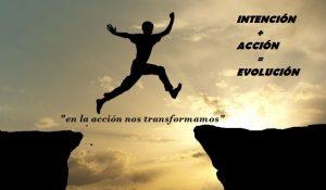 saltar y evolucionar