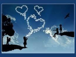 corazones en el cielo