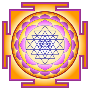Sri Yantra por atarax42. Licencia Creative Commons.