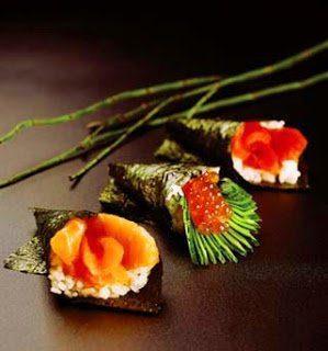 cocina con algas