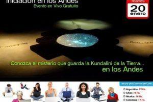 """Seminario Virtual Gratuito """"La Iniciación en los Andes"""" – 20 de Enero del 2015"""