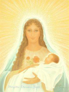 madre maria y niño jesús