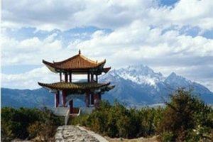 Pagodas sagradas de veracidad y centros de la nueva realidad
