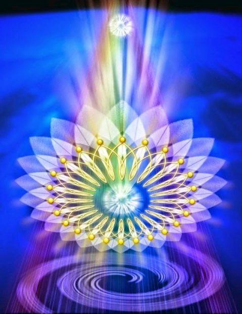 La integración del SOY en ustedes, se lleva a cabo actualmente a través de la energía que emana el Cristo Cósmico 2