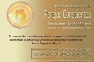 Talleres de Creación de Parejas Conscientes – 28 de Febrero en Buenos Aires,  Los Andes (Chile ) 14 de Marzo